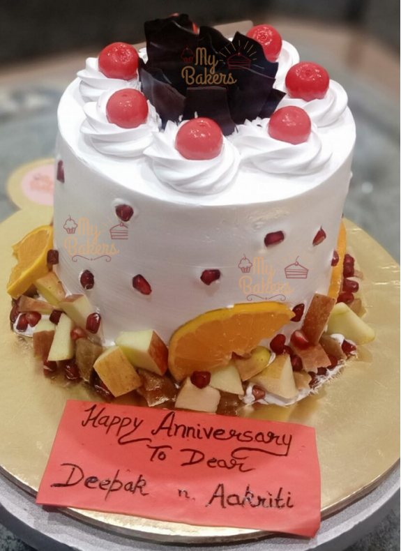 Anniversary Cake For Dear Ones
