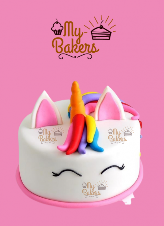 Beautiful Unicorn Theme Cake