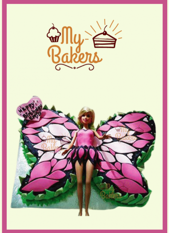 Butterfly Theme Cake