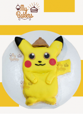 Delish Pikachu Theme Cake