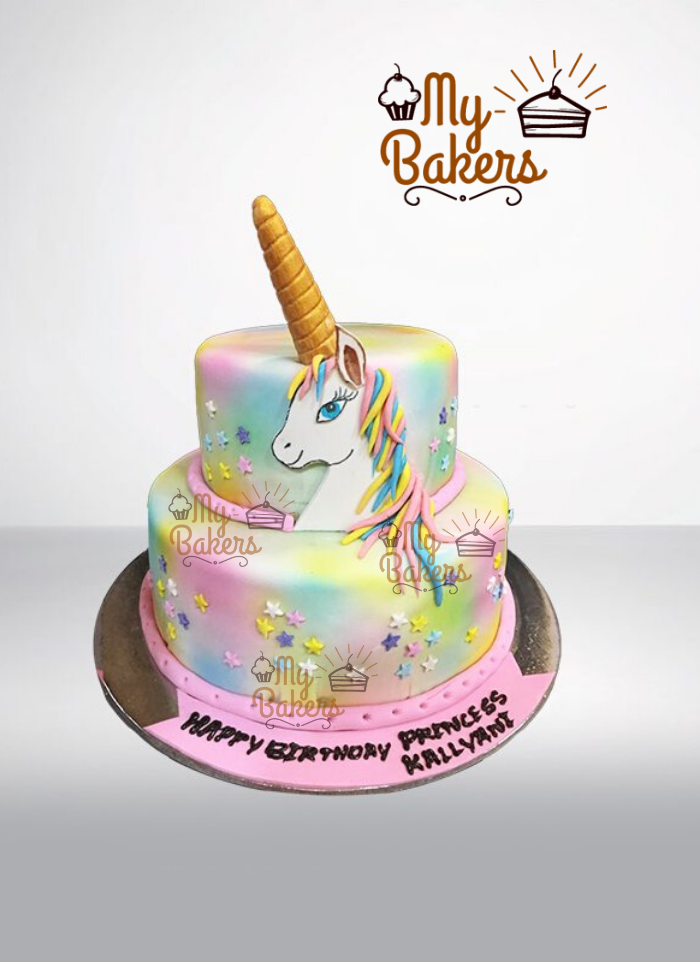 Divine Unicorn Theme Cake