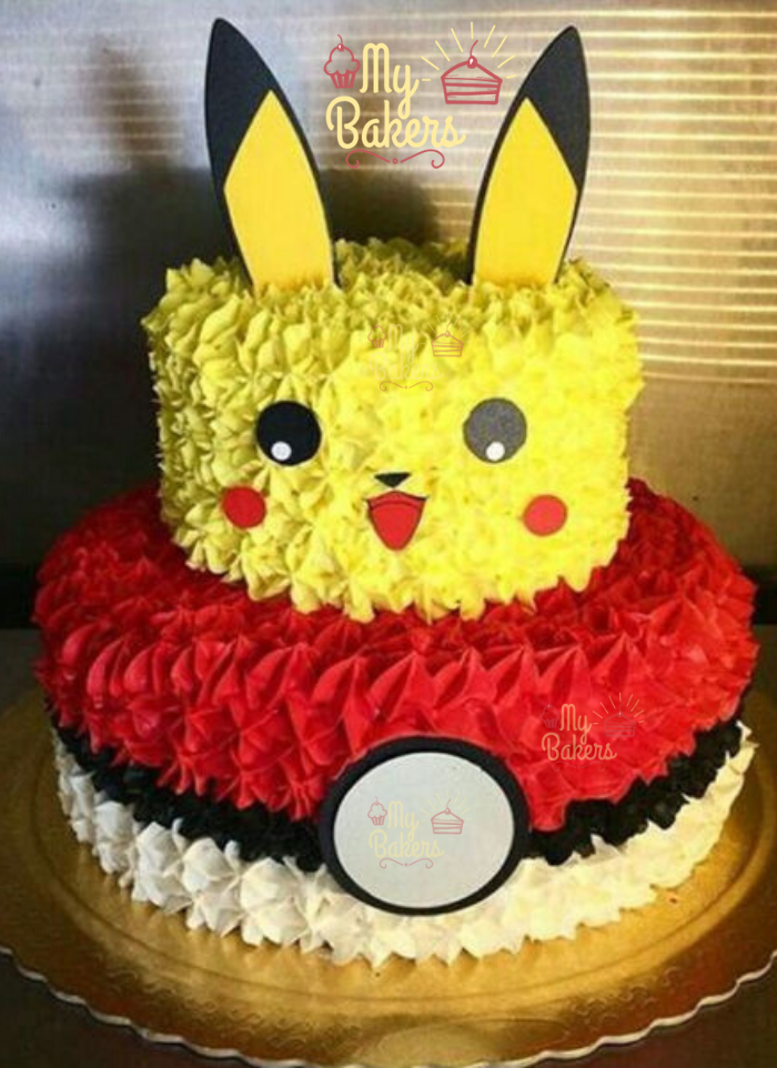 Exclusive Pikachu Theme Cake