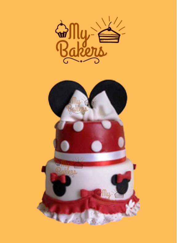 Kids Special Mickey Mouse Theme Cake