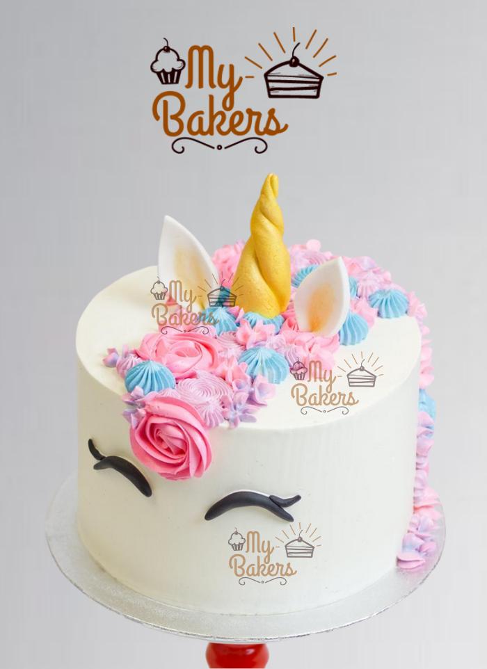 Lavish Unicorn Theme Cake