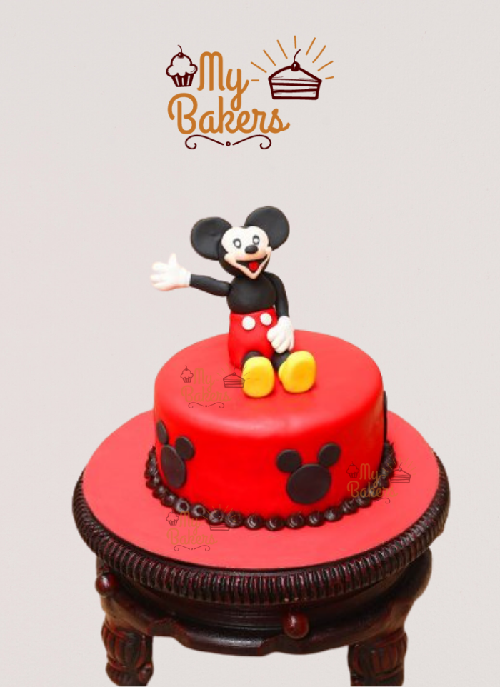 Mickey Mouse Cake For Kids