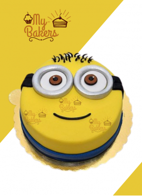Minion Cartoon Cake