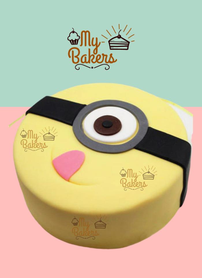 Quirky Minion Cake