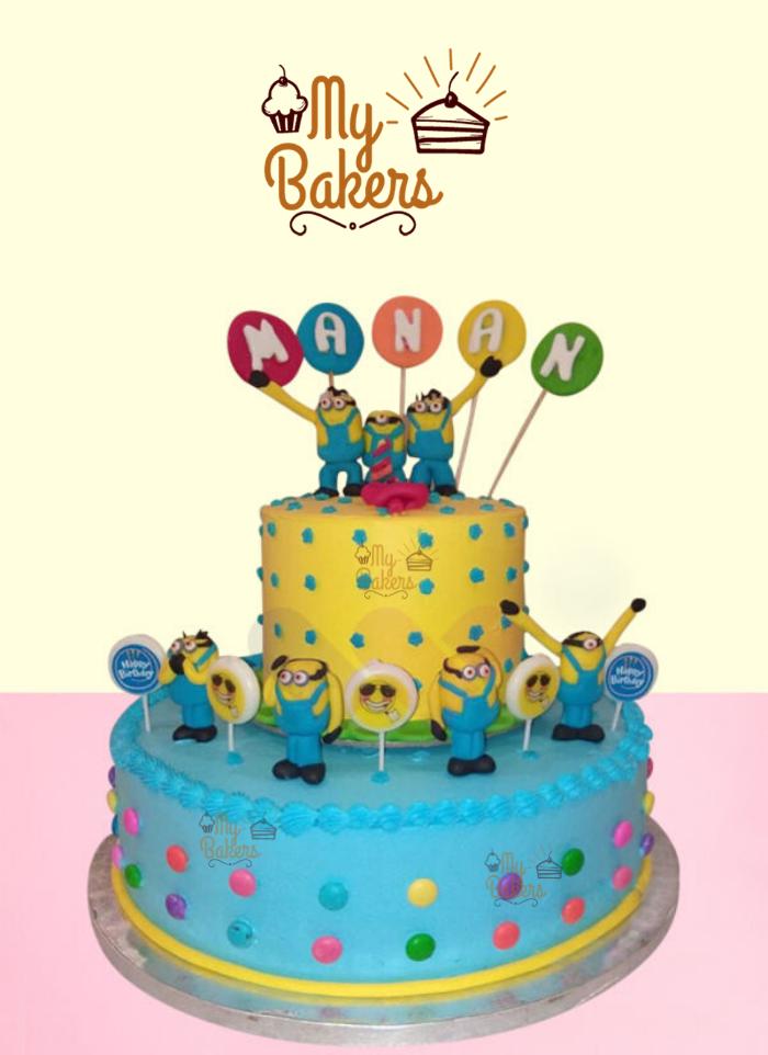 Ravishing Minion Cake