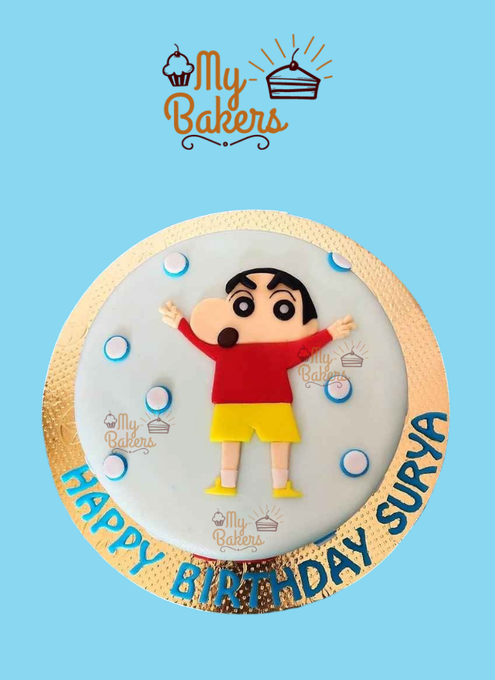 Shinchan Theme Cake