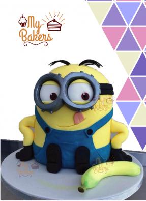 Stuart Minion Cake