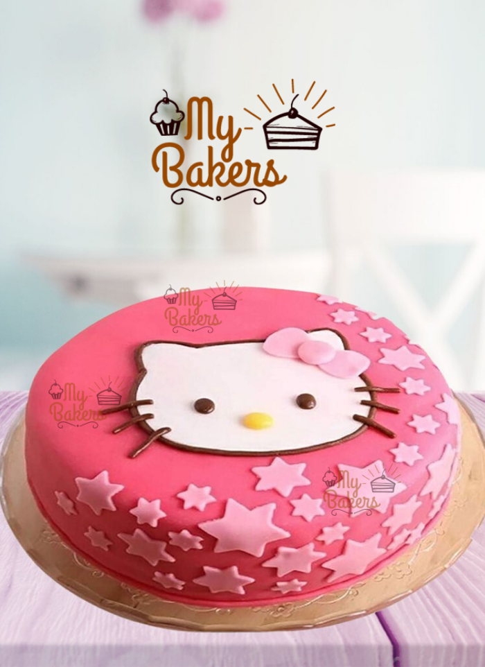Sweetest Hello Kitty Theme Cake