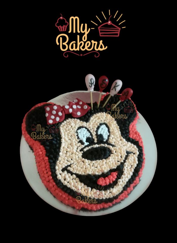 Unique Mickey Mouse Theme Cake