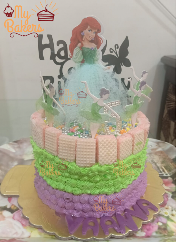 Customize Barbie Birthday Cake