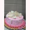 Exclusive & Delicious Ribbon Fondant Cake