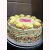Glamour Yellow Cream Cake