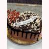 Heart Birthday Sweetheart Cake