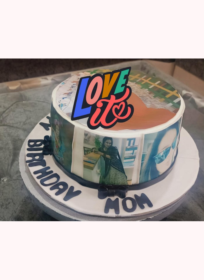 Photo Cake For Mom
