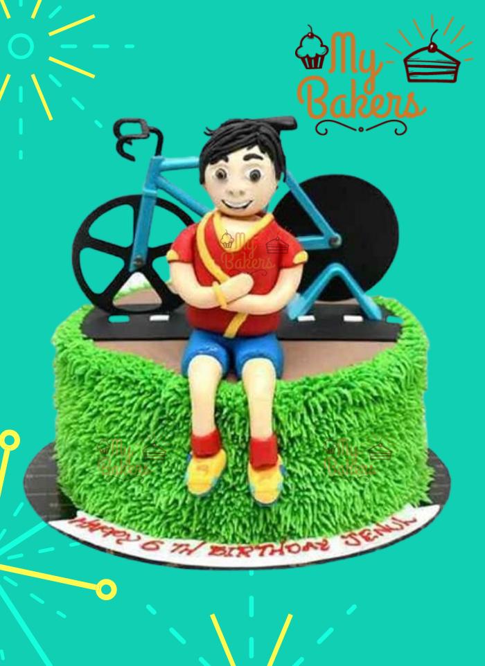 Shiva Theme Cake