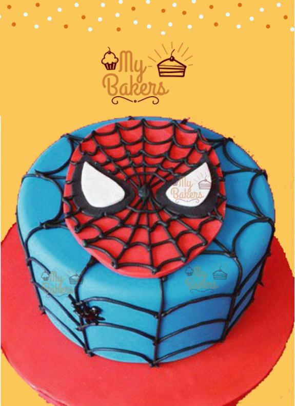 Heroic Spiderman Theme Cake