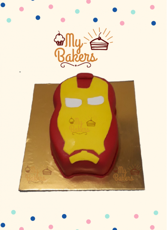 Yummy Super Hero Theme Cake