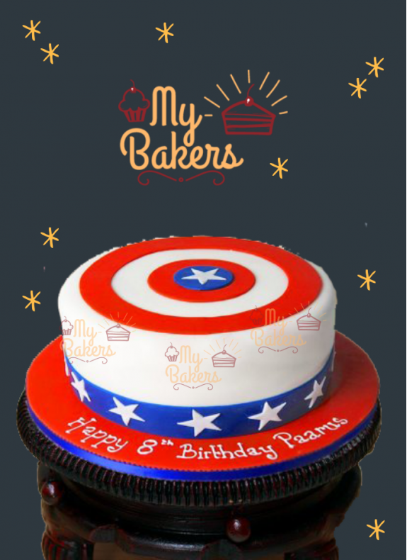 Divine Super Hero Theme Cake