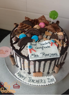 Best Teacher Chocolate Cake
