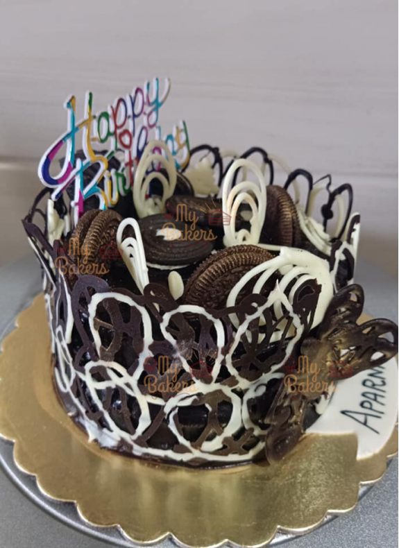 Exclusive Chocolate Wrap Cake