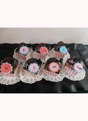 Cup Cakes (Pack Of 7 Cup Cakes)