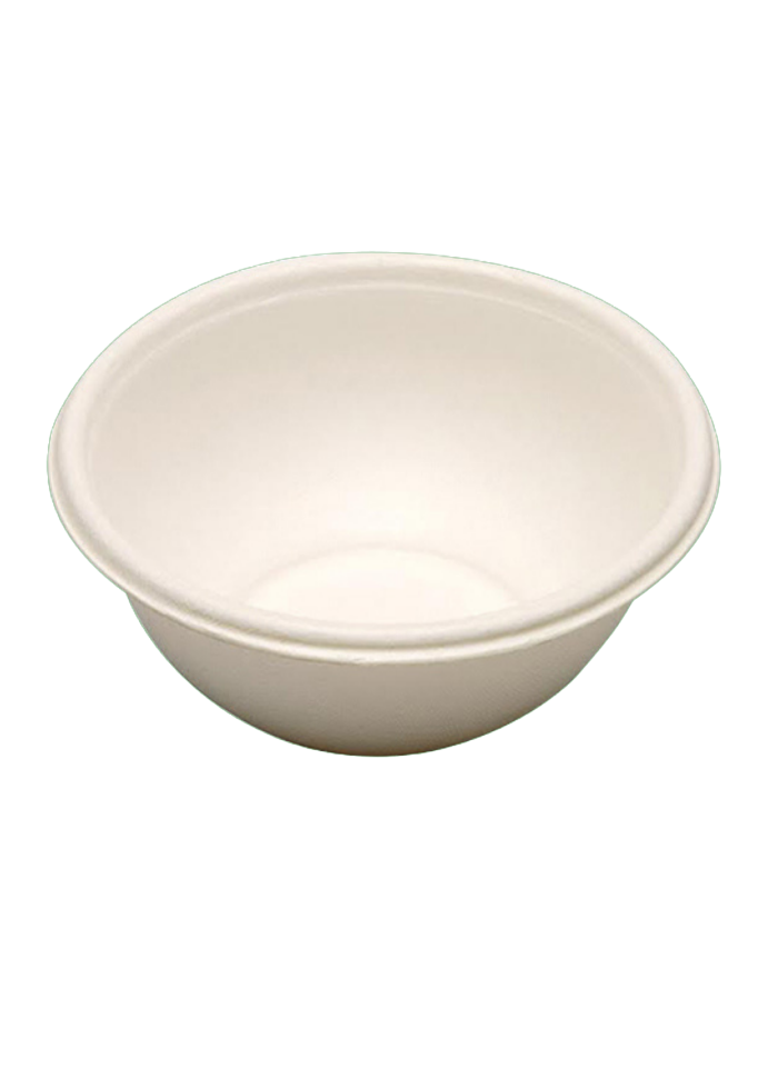 Biodegradable round bowl 180 ml pack of 50
