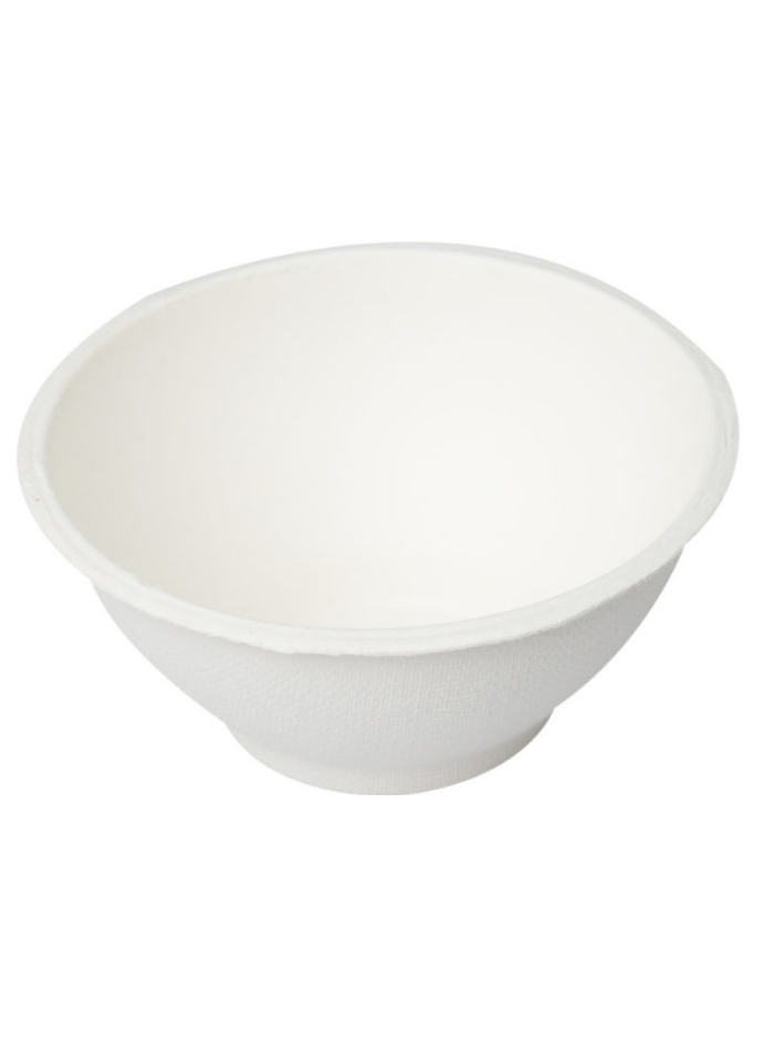 Biodegradable round bowl 240 ml pack of 50