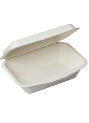 Biodegradable Packing Box 600 ml pack of 10