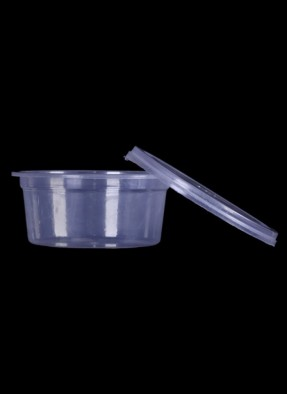 Round Container 100-ml pack of 10