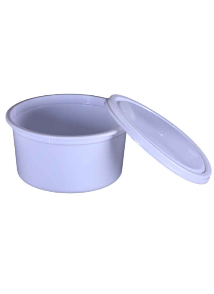 Round Container 250-ml pack of 50