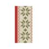 Luxury Premium Designer Cloth Napkin Urban Yule Red 48 x 48 cm pack of 40