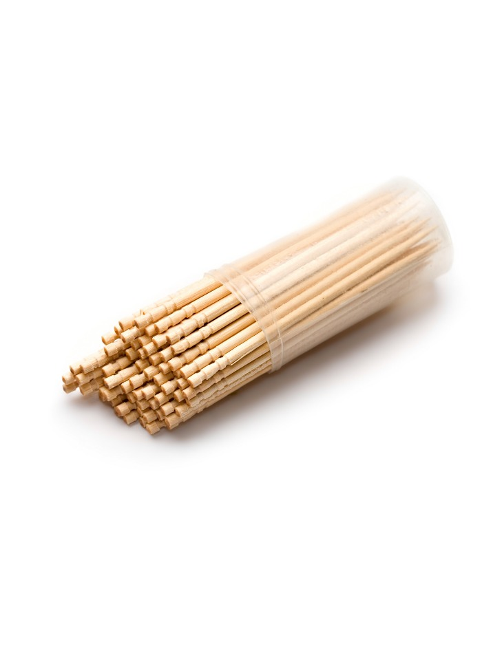 Wooden Biodegradable Toothpick 6.5 cm pack of 180
