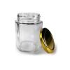Hexagonal Lug Jar 250 ml pack of 1 case 60 pcs