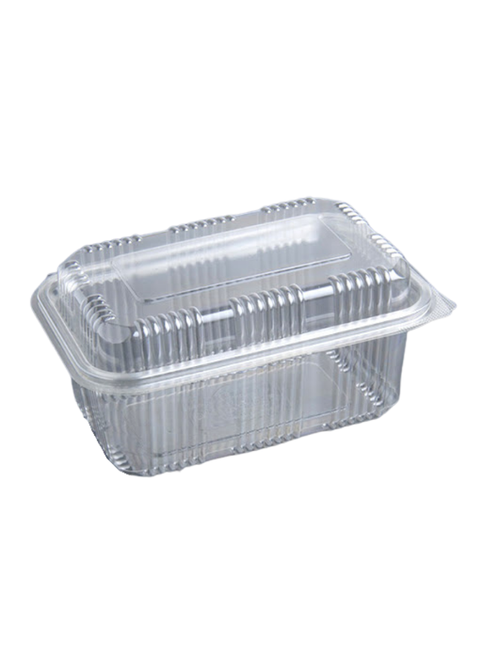 Dome Hinge Container 375 ml pack of 50