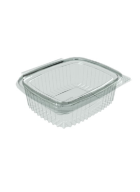Flat Hinge Container 375 ml pack of 10