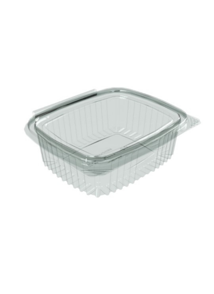 Flat Hinge Container 375 ml pack of 50