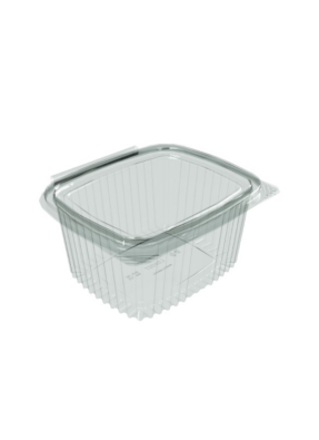 Flat Hinge Container 500 ml pack of 10