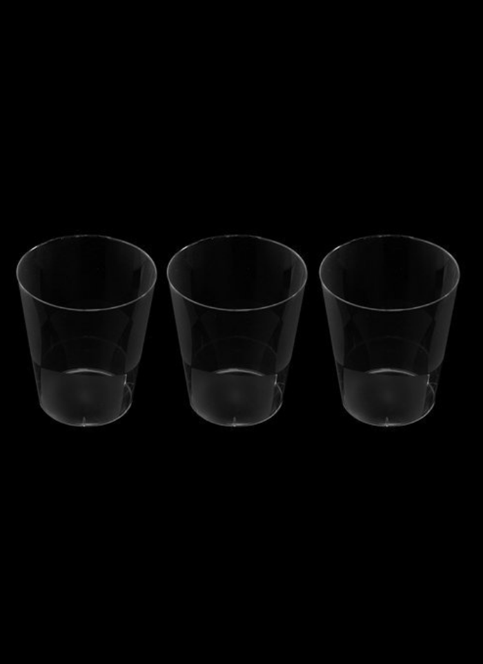 Frosted glass Transparent 200 ml pack of 10