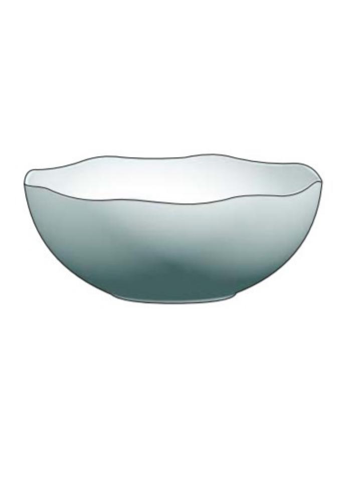 Mini round bowl White pack of 10