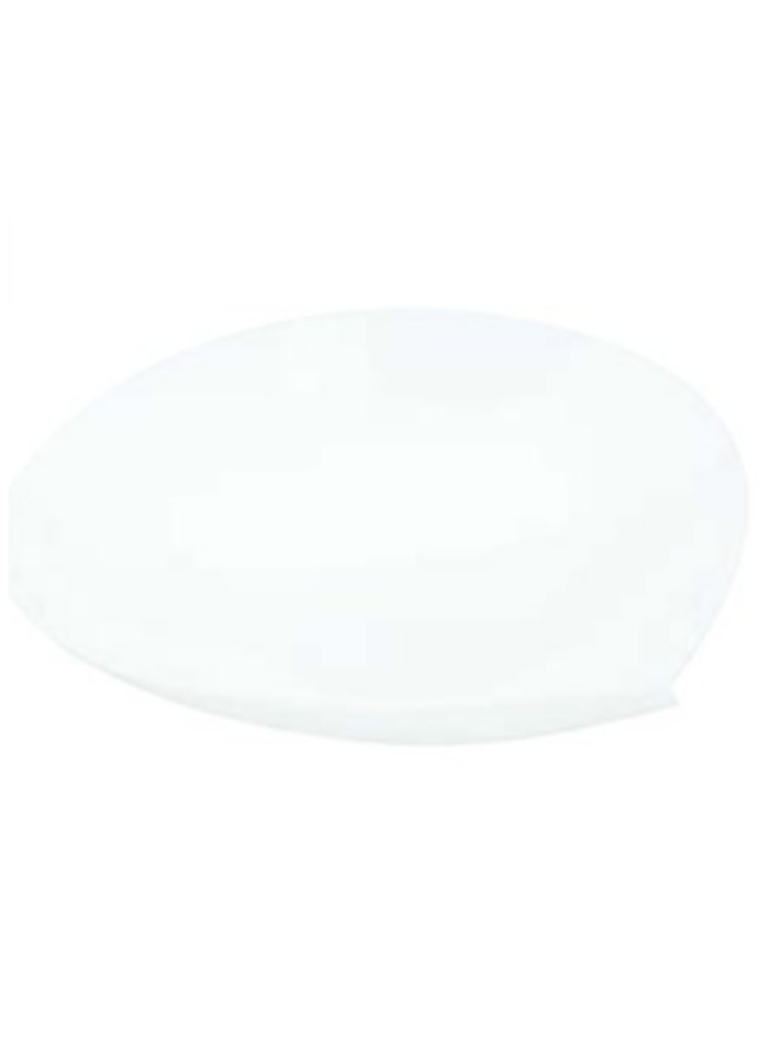 Pyramid plate small White pack of 10