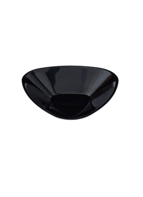 Vicks plate small 2.5x2.5 inch Black pack of 10