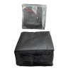 Premium Plain Cloth Napkin Black 25 x 25 cm pack of 100