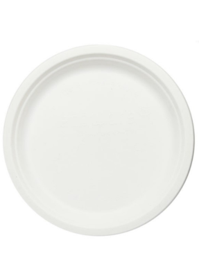 Biodegradable round plate 10 inch pack of 50