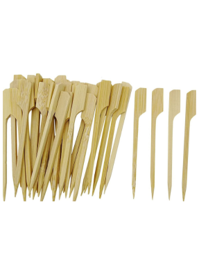 Wooden Biodegradable Skewer 4 inch pack of 50