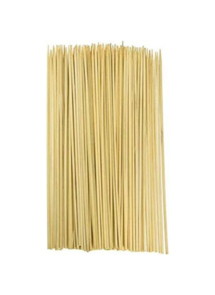 Wooden Biodegradable Skewer 10 inch pack of 80