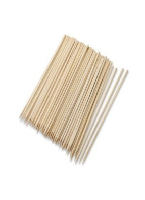Wooden Biodegradable Skewer 12 inch pack of 80