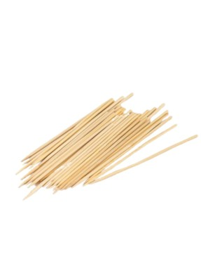 Wooden Biodegradable Skewer 6 inch pack of 80